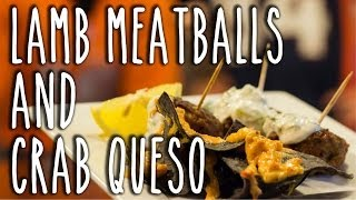 Lamb Meatballs And Crab Queso