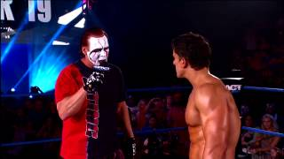 The Icon Sting confronts Ethan Carter III (December 12, 2013)