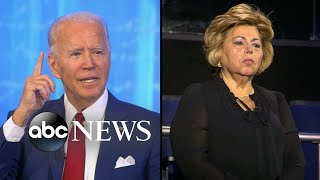 Joe Biden pressed on supporting a 1994 crime bill l ABC News Town Hall