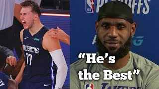 NBA Players REACT to Luka Doncic Buzzer Beater vs Clippers