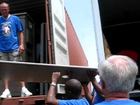 MVI 5002 Loading of the 3rd Container To Zimbabwe Africa.