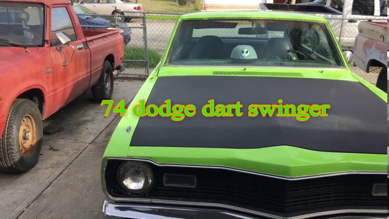 74 DODGE DART SWINGER - YouTube