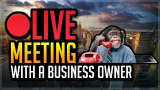 LIVE MEETING With a Business Owner For Social Media Marketing [Possible New Series]