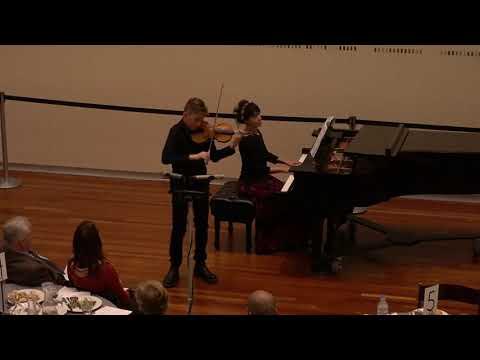Niccolò Paganini's I Palpiti, Op. 13 For Violin And Piano, Performed By Zeke Sokoloff