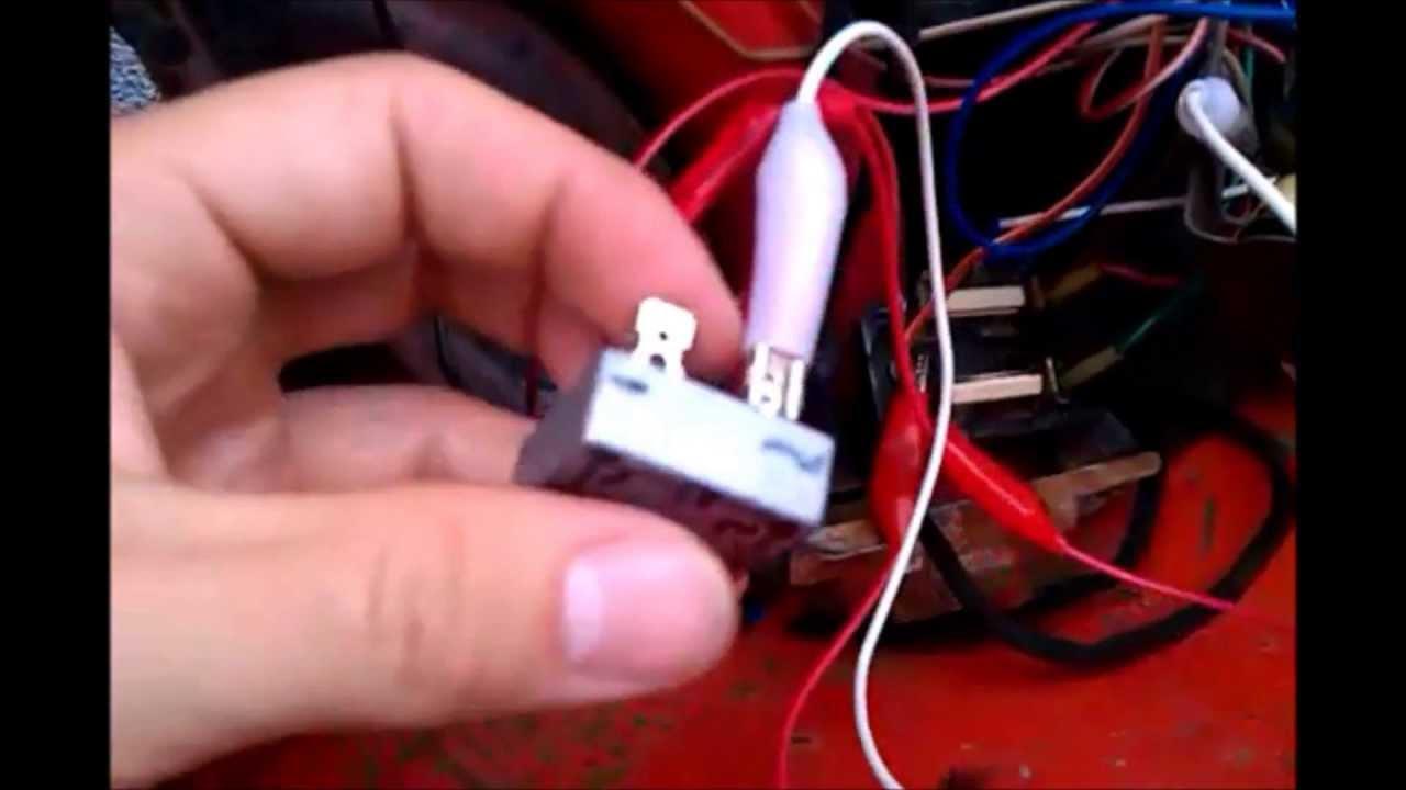 Gleichrichter Einbau S51 - YouTube