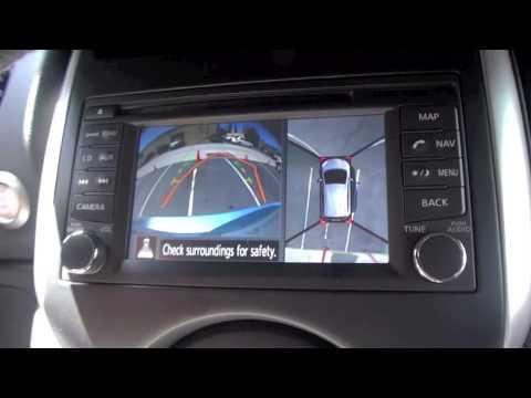 2014 Nissan Versa Around View Monitor Challenge Youtube