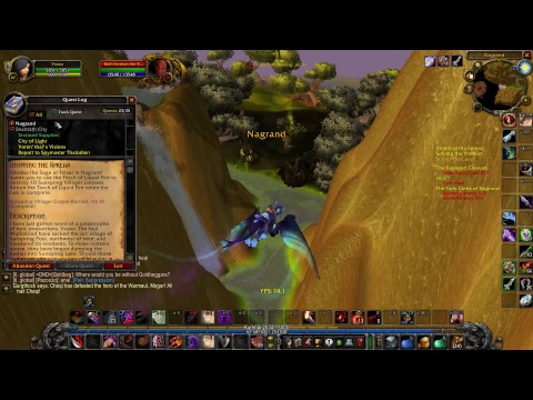 WoW TBC Warmane: Rogue Leveling 66+ Starting Nagrand & World PvP 20+ HK