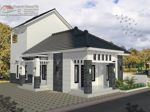 Desain Rumah Minimalis Lantai  2_Modern House (8x15.5)_4 K. Tidur