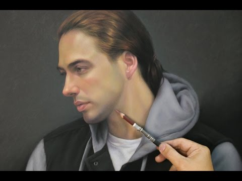 "Timelapse ""Portrait of Sean"" - Pastel, 2015"