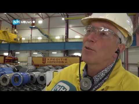 'Kleurrijke' en ultramoderne verzendhal voor Tata Steel