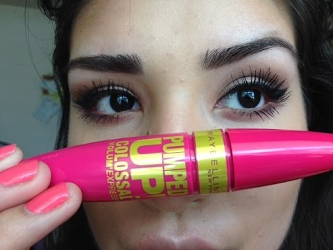 New Maybelline Pumped Up mascara! Is it a keeper? - YouTube