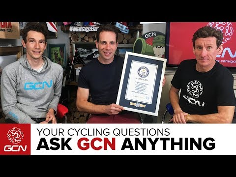 Around The World In 78 Days With Mark Beaumont | Ask GCN Anything About Cycling