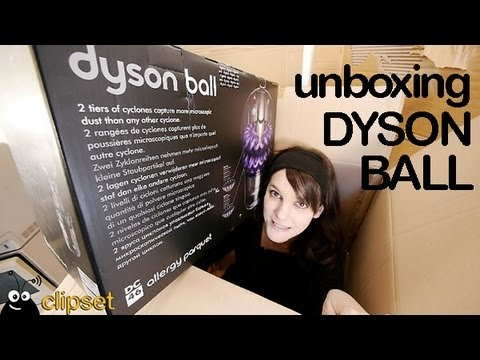 Dyson ball DC46 allergy parquet unboxing y review