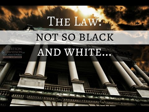 Top 10 Trust and Will Myths: Episode 3 The Law is not so black and white