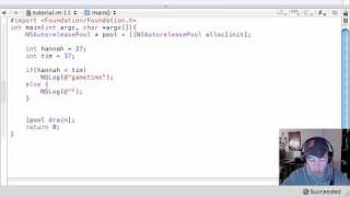 Objective C Programming Tutorial - 17 - if else
