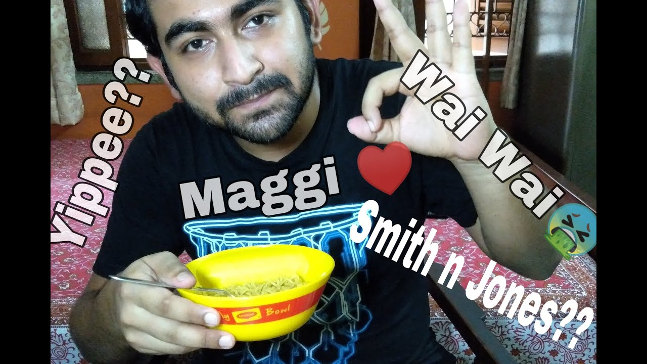 Yippee vs Smith n Jones vs Maggi vs Wai Wai || Which is the best?? || Home Kitchen