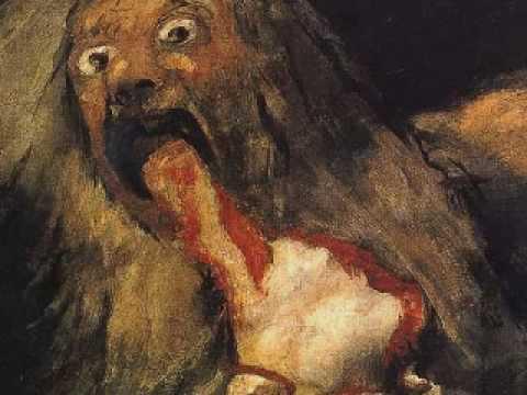 Spanish Artist Black Paintings