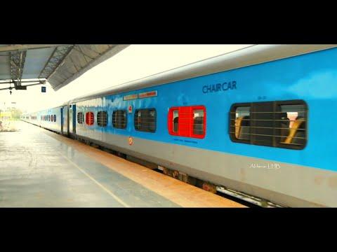 ONLY train on BOGIBEEL over River Brahmaputra | Tinsukia Naharlagun Intercity arrives New Tinsukia