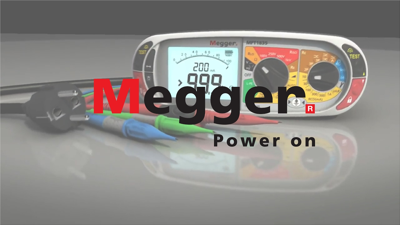 Machine - Megger MFT1800 Multifunction Tester