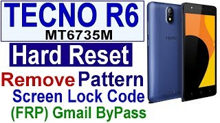 How To Bypass Google Account Frp Lock Tecno In3 Nougat 7 0