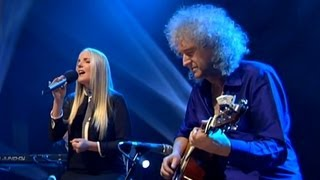 Скачать Brian May And Kerry Ellis Life Is Real The Late Late Show