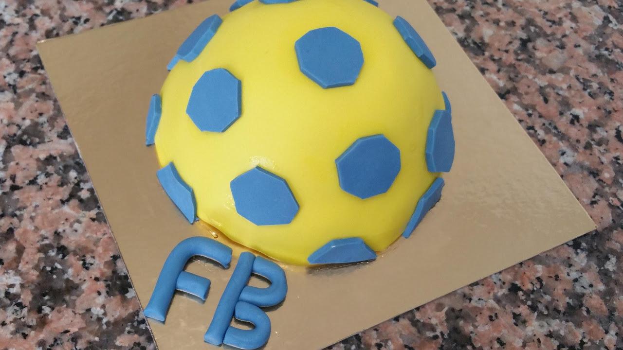 Fenerbahçe Futbol Topu Pastası [HD]