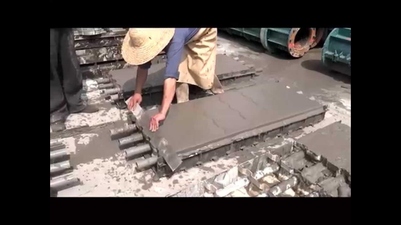 Cellular Concrete Foaming Agent : Cellular light weight concrete block mold foaming agent