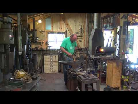 A day in the shop with Black bear Forge