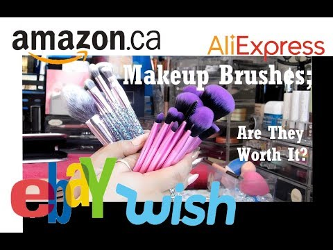 MakeUp Brushes From Online Stores - Are They Worth It?