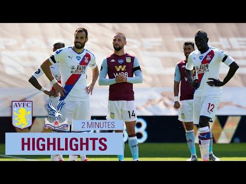HIGHLIGHTS Aston Villa 2-0 Crystal Palace