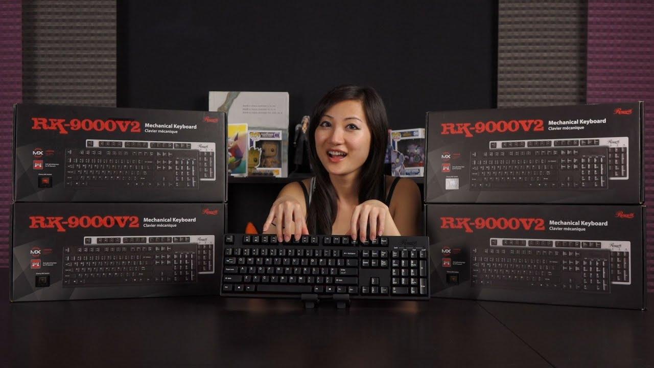 rosewill rk 9000v2 mechanical keyboards cherry mx blue brown red black overview youtube. Black Bedroom Furniture Sets. Home Design Ideas