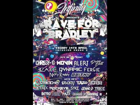DJ Movin Mcs Stretch, Letrix & Blast - 3 Way Mic @ Rave For Bradley 14.4.2017
