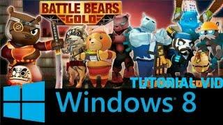 Battle Bears Gold PC Tutorial Vid 2016