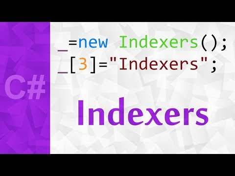 _ 💻 Indexers in C# with Examples ⚪ A C# Tutorial For Complete Beginners