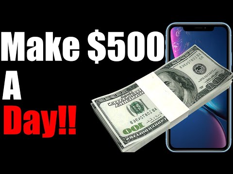 Make $100 to $500 Dollars a day No money needed (Side Hustle) Quit Your Job 2019
