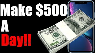 Want to make $100 a day? $500 dollars this is the best side hustle i have found easy money. not all hustles good money ...
