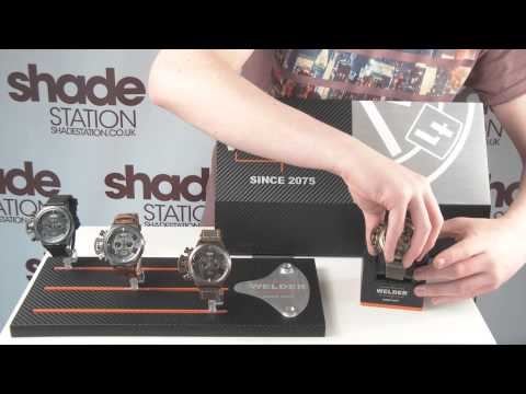 Exclusive Welder K24 Watches Video Product Overview | Shade Station