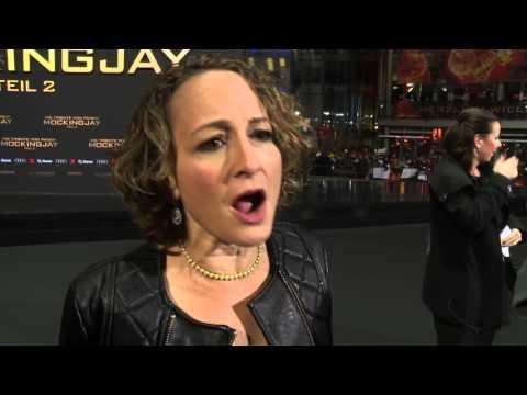 Mockingjay Partt 2 World Premiere - Nina Jacobson Interview