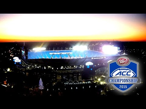 ACC Football Championship Game Time Lapse at Bank of America Stadium