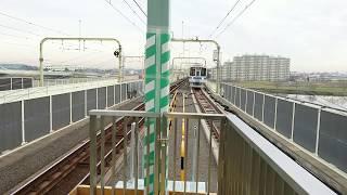 【各駅停車 本厚木行き】登戸駅到着シーン
