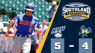 Baseball: HBU 5, MCN 4 (Game 10 Melt)