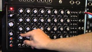 Chrutil Sequencer II - Home built analog sequencer