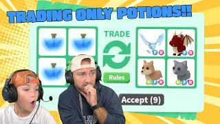 ONLY Trading Potions In Roblox Adopt Me!! NEW Sopo Squad Gaming!!!
