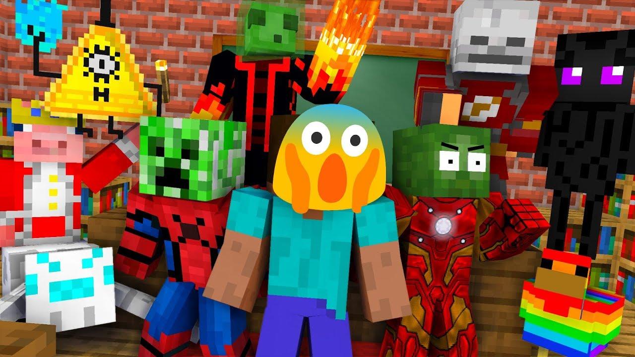 Download Monster School : BREWING ALL MOBS CHALLENGE - Minecraft Animation