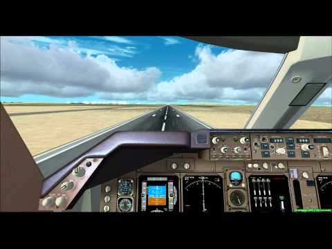 "FSX Damascus Airport Circle To Land ""last segment"""