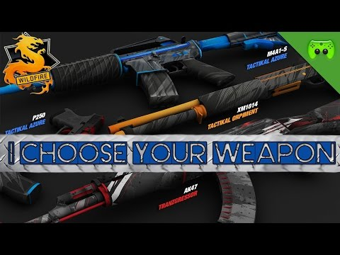 I CHOOSE YOUR WEAPON 🎮 Counterstrike: Global Offensive #177
