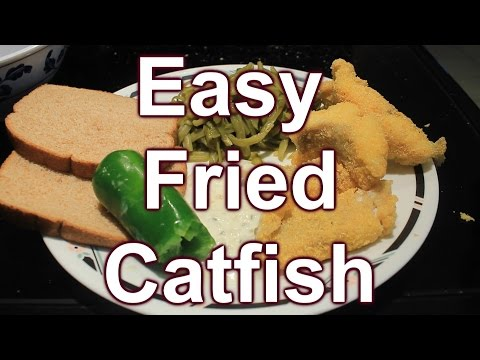 Video Simple fried catfish recipe