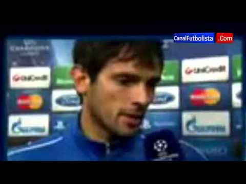 Roque Santa Cruz | Borussia Dortmund 3-2 Málaga Champions League 09-04-2013