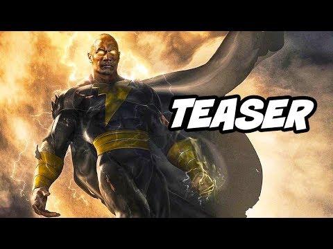 Shazam Black Adam First Look Teaser 2021 Breakdown - Black Adam Explained