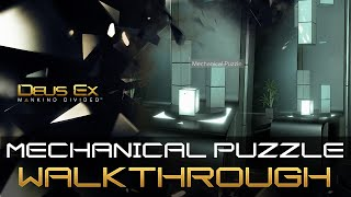 Mechanical Puzzle Solution for the safe inside the Palisade Bank in Deus Ex Mankind Divided Mechanical Puzzle in Palisade Bank is a challenge You can